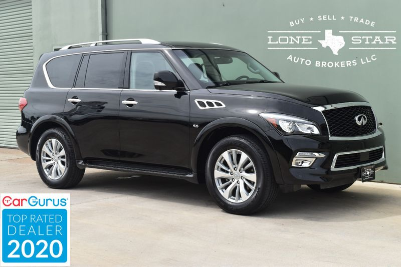 2017 Infiniti QX80 Base   Arlington, TX   Lone Star Auto Brokers, LLC