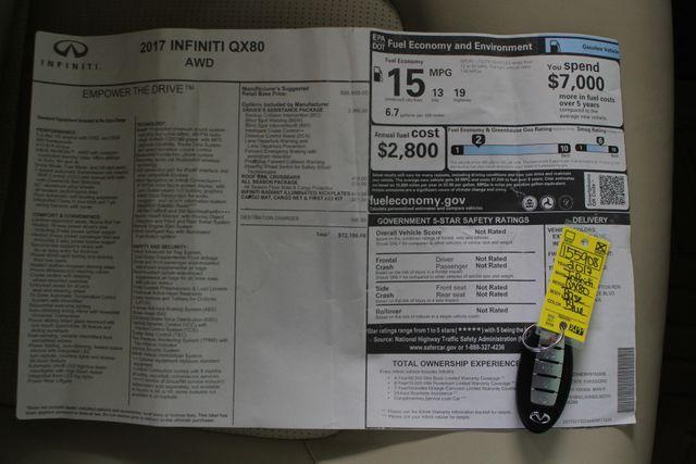 2017 Infiniti QX80 AWD - DRIVER ASSISTANCE PKG - NAV - SUNROOF! Mooresville , NC 7