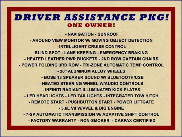 2017 Infiniti QX80 AWD - DRIVER ASSISTANCE PKG - NAV - SUNROOF! Mooresville , NC 1