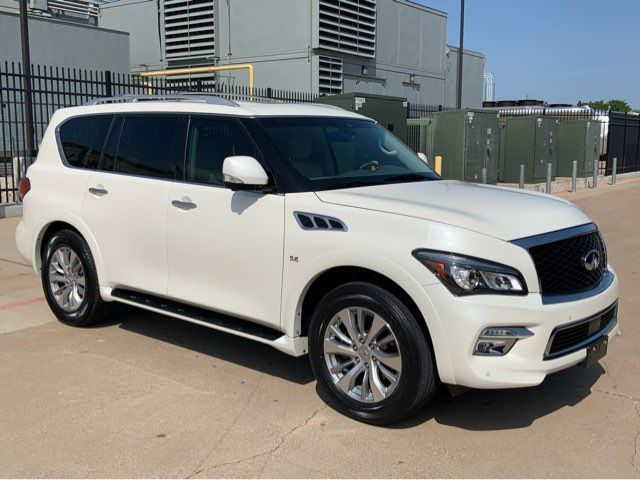 2017 Infiniti QX80 1-OWNER * Sunroof * QUADS * Navi * BU CAM * Texas in Plano, Texas 75093