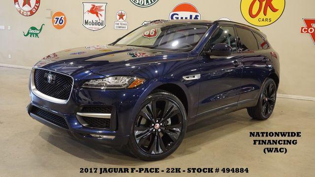 2017 Jaguar F-PACE 35t R-Sport AWD PANO ROOF,NAV,360 CAM,HTD LTH,22K in Carrollton TX, 75006