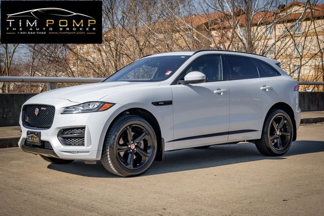 2017 Jaguar F-PACE 35t R-Sport 2 TONE RED/BLACK SEATS PANO ROOF