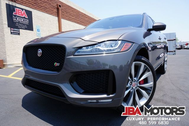 2017 Jaguar F-PACE S Package AWD SUV ~ Highly Optioned HUGE $71K MSRP