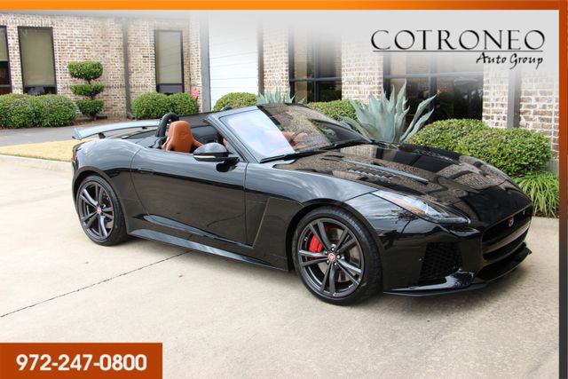 2017 Jaguar F-TYPE SVR Convertible in Addison, TX 75001