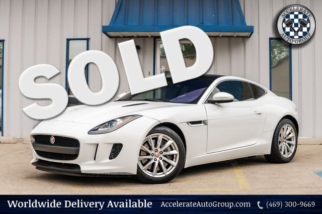 2017 Jaguar F-TYPE PREMIUM NAV SUPERCHARGED CLEAN CARFAX LOADED NICE! in Rowlett