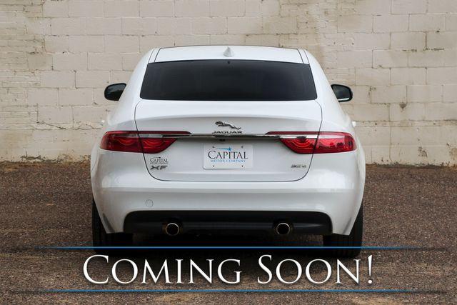 2017 Jaguar XF 35t Premium Sport Sedan w/Nav, Moonroof, Heated Seats, Keyless Start & Meridian Audio Pkg in Eau Claire, Wisconsin 54703
