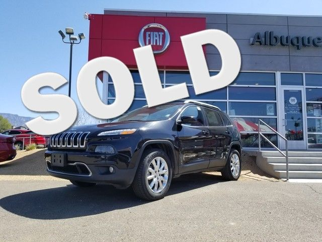 2017 Jeep Cherokee Limited in Albuquerque New Mexico, 87109