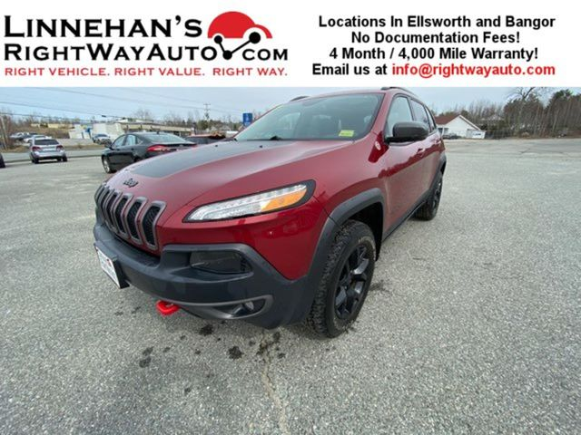 2017 Jeep Cherokee Trailhawk L Plus in Bangor, ME 04401