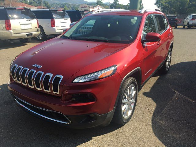 2017 Jeep Cherokee Limited - John Gibson Auto Sales Hot Springs in Hot Springs Arkansas