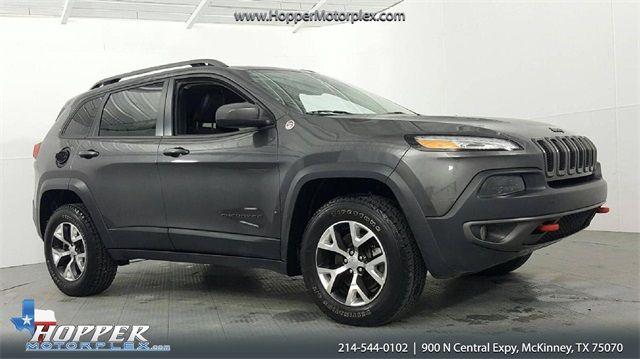 2017 Jeep Cherokee Trailhawk in McKinney, Texas 75070