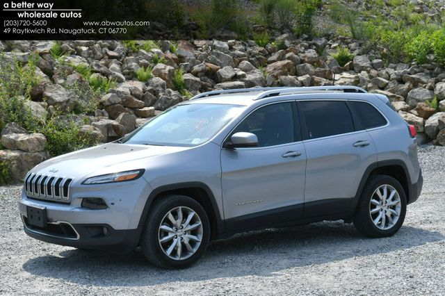 2017 Jeep Cherokee Limited Naugatuck, Connecticut