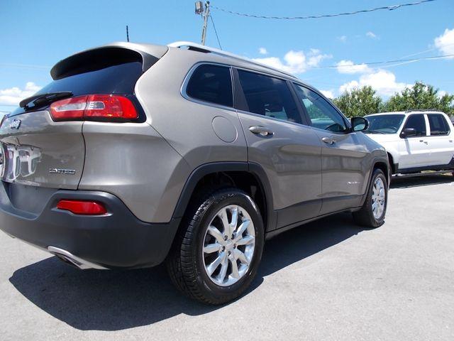 2017 Jeep Cherokee Limited Shelbyville, TN 11