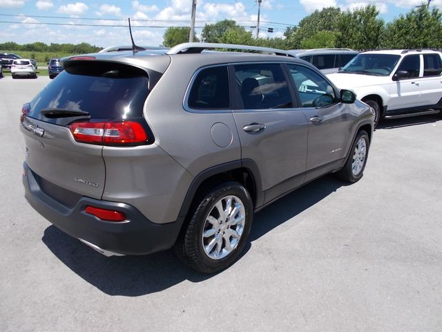 2017 Jeep Cherokee Limited Shelbyville, TN 12