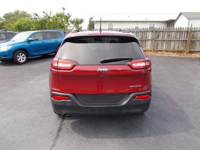 2017 Jeep Cherokee Sport Shelbyville, TN 13
