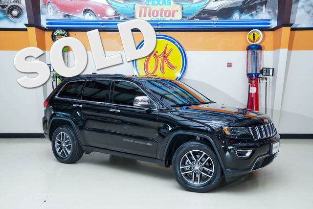 2017 Jeep Grand Cherokee Limited in Plano, TX 75075