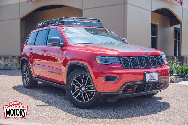 2017 Jeep Grand Cherokee Trailhawk V8-4x4