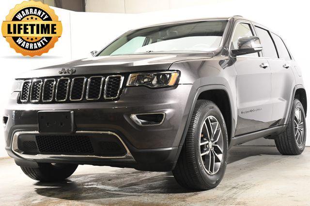 2017 Jeep Grand Cherokee Limited w/Blind Spot/ Nav/ Sunroof