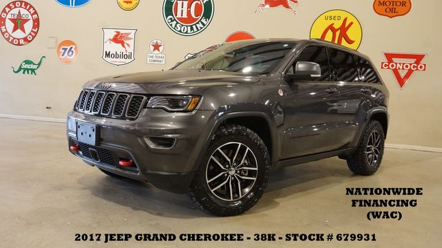 2017 Jeep Grand Cherokee Trailhawk 4X4 HEMI,PANO ROOF,NAV,HTD/COOL LTH,38K