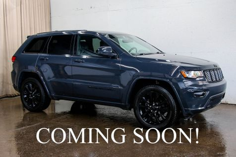2017 Jeep Grand Cherokee Altitude 4x4 w/Heated Seats, Backup Cam, Bluetooth Audio & Black 20