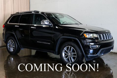 2017 Jeep Grand Cherokee Limited 4x4 w/Navigation, Heated Seats, Remote Start, Moonroof & B.T. Audio in Eau Claire
