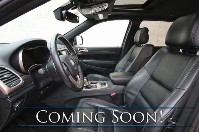 2017 Jeep Grand Cherokee Limited 4x4 SUV w/Nav, Backup Cam, Heated Seats, Bluetooth Audio & Tow Package in Eau Claire, Wisconsin 54703