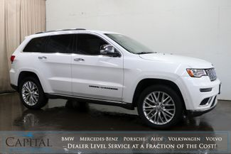 2017 Jeep Grand Cherokee Summit 4x4 w/Adaptive Cruise, Nav, 360º Cameras, Automated Parking & Tow Pkg in Eau Claire, Wisconsin 54703