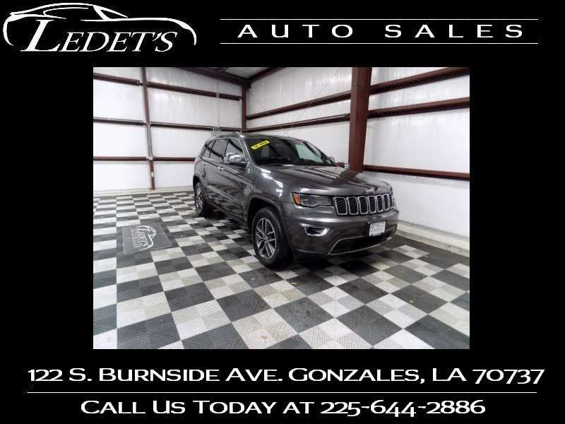2017 Jeep Grand Cherokee Limited - Ledet's Auto Sales Gonzales_state_zip in Gonzales Louisiana