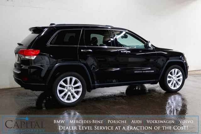 2017 Jeep Grand Cherokee Limited 4x4 SUV w/Nav, Backup Cam, Heated Steering Wheel and Heated Seats in Eau Claire, Wisconsin 54703