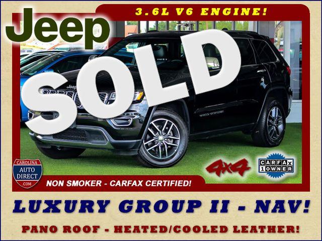 2017 Jeep Grand Cherokee Limited 4X4 - LUXURY GROUP II - NAV - PANO ROOF! Mooresville , NC