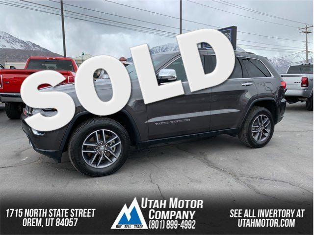 2017 Jeep Grand Cherokee Limited   Orem, Utah   Utah Motor Company in  Utah