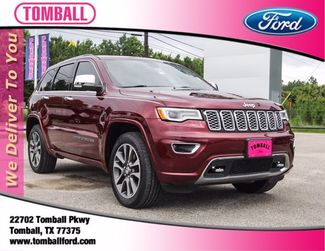 2017 Jeep Grand Cherokee Overland in Tomball, TX 77375