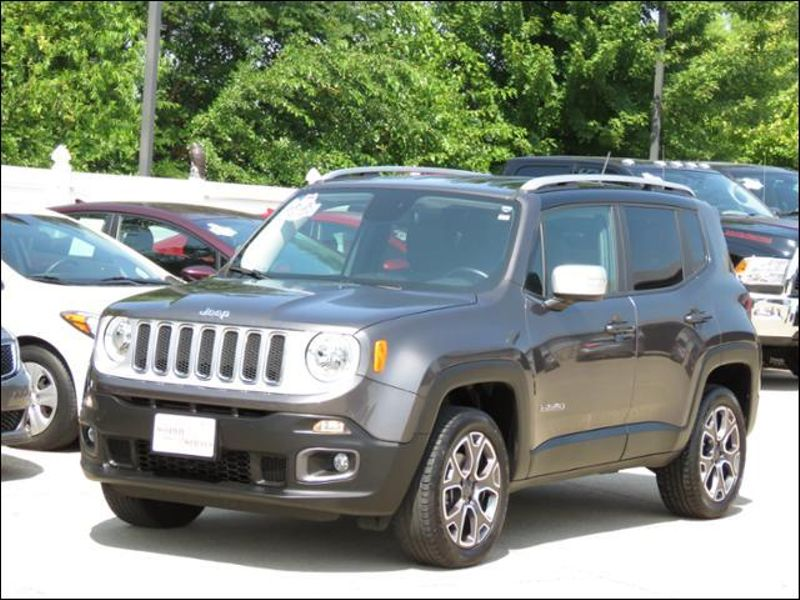 2017 Jeep Renegade Limited 4WD Leather Granite Crystal Metallic  in Ankeny IA
