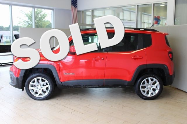 2017 Jeep Renegade 4WD Latitude