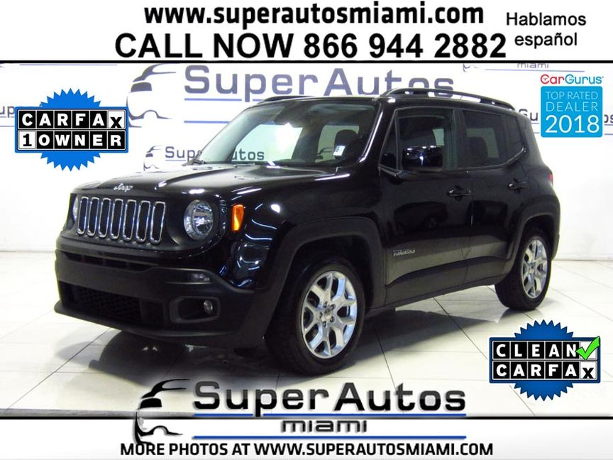 2017 Jeep Renegade Laude In D Fl