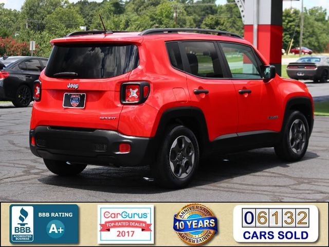 """2017 Jeep Renegade Sport FWD - SPORT APPEARANCE GROUP - 5"""" UCONNECT! Mooresville , NC 2"""