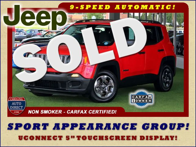 """2017 Jeep Renegade Sport FWD - SPORT APPEARANCE GROUP - 5"""" UCONNECT! Mooresville , NC"""