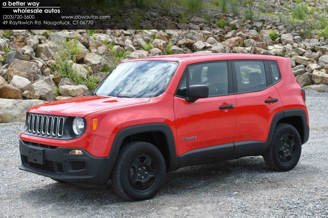 2017 Jeep Renegade Sport 4WD Naugatuck, Connecticut