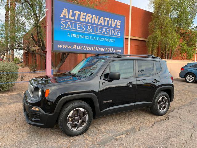 2017 Jeep Renegade Sport 3 MONT/3,000 MILE NATIONAL POWERTRAIN WARRANTY Mesa, Arizona