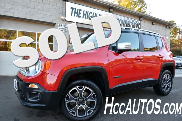 2017 Jeep Renegade Limited Waterbury, Connecticut