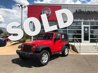 2017 Jeep Wrangler Sport in Albuquerque New Mexico, 87109