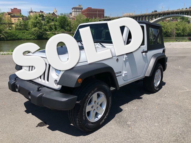 2017 Jeep Wrangler Sport Fairmont, West Virginia