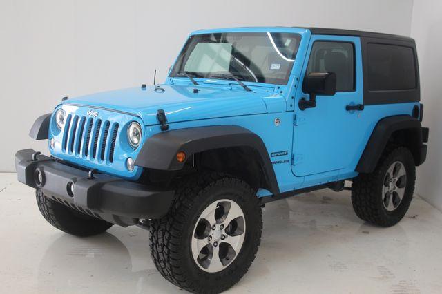 2017 Jeep Wrangler Sport Houston, Texas 5