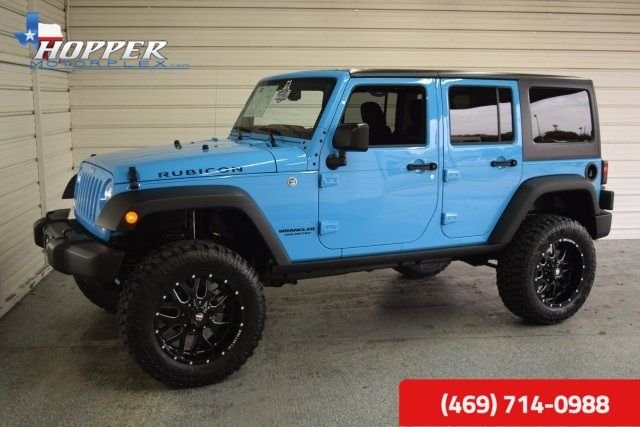 2017 Jeep Wrangler Unlimited Rubicon LIFTING HLL in McKinney, Texas 75070