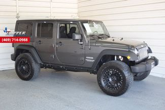 2017 Jeep Wrangler Unlimited Sport Lifted with custom wheels and t... in McKinney Texas, 75070