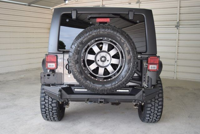 2017 Jeep Wrangler Unlimited Rubicon LIFTED WITH CUSTOM TIRES AND ... in McKinney Texas, 75070