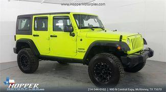 2017 Jeep Wrangler Unlimited Sport Lifted Custom Wheels in McKinney Texas, 75070