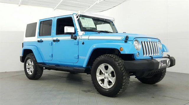 2017 Jeep Wrangler Unlimited Sahara Chief