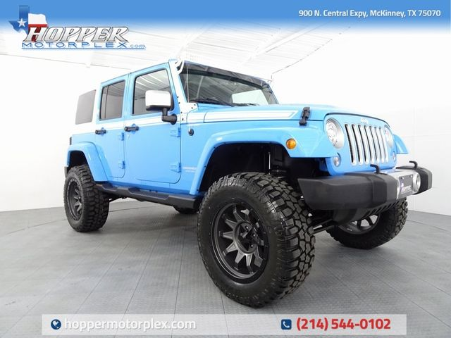 2017 Jeep Wrangler Unlimited Sahara LIFT/CUSTOM WHEELS AND TIRES