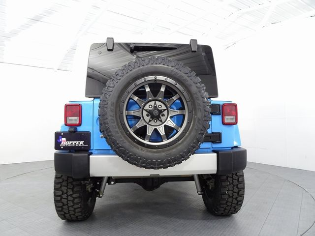 2017 Jeep Wrangler Unlimited Sahara LIFT/CUSTOM WHEELS AND TIRES in McKinney, Texas 75070
