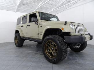 2017 Jeep Wrangler Unlimited Sahara Custom Lift, Wheels & Tires in McKinney, Texas 75070